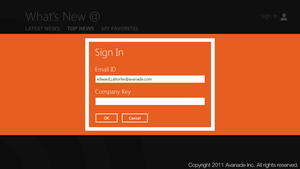What's New At - Log In by ealtorfer