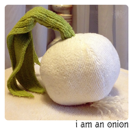 Onion Plush by Galadnilien