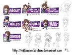 Commission: Twitch Panels for MissEspeon by TekkanoMaki-chan