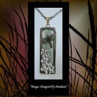 Pendant Dragonfly Pendant by KabiDesigns