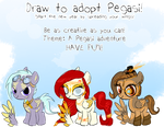 Draw to Adopt January 2013 CLOSED by Lost-in-Equestria