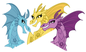The Sirens -Headshots by DragonMaster137