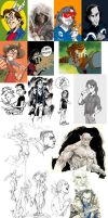 Sketchdump 2012 - 2 by mistermoster