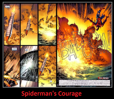 Spiderman's Courage by KeybladeMagicDan