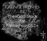Grunge Brush Set by TheoGothStock