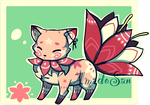 foxflower Adoptable closed (new specie) by AS-Adoptables