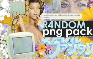 R4NDOM PNG PACK by anormalmentejoven
