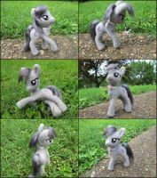 Needle felted posable Octavia by SnowFox102