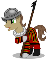 Request? - Pikeman Pony by DrFatalChunk