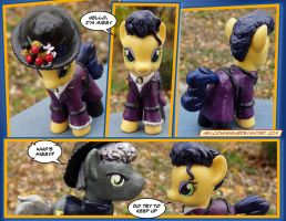 Doctor Who Pony - MISSY by HeyLookASign