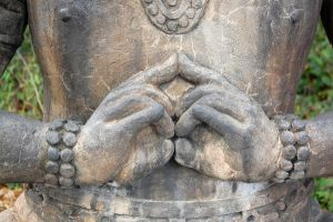 Buddha's hands by hardrainfallin