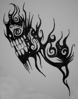 Overloaded Pain Tattoo Design by Viper-mod