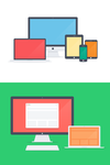 Flat Apple family - PSD by NumarisLP