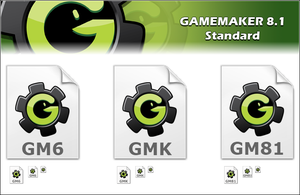 Game Maker 8.1 icons by SpringsTS
