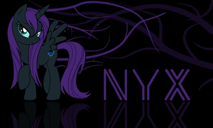 Wet Nyx wallpaper by zibags
