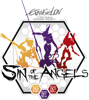 Logo Evangelion Sin of the Angels by ogamitaicho