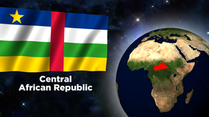 Flag Wallpaper - Central African Republic by darellnonis