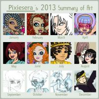2013 Art Summary by pixiesera