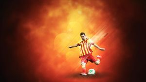 lionel messi wallpaper by elatik-p