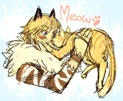 meow :3 by MuscleFace