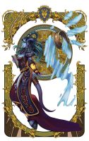 wow fan art page 2-6 by Angju