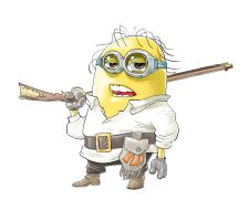 Minion as Ken Parker by andreleal