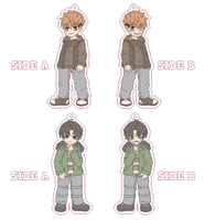 Killing Stalking Charms (And Good News) by Momoroo