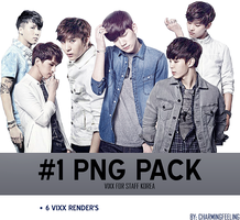 [#1 PNG PACK] VIXX for STAFF by CharmingFeeling