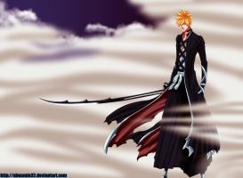 Ichigo_New_Bankai by abuamin32