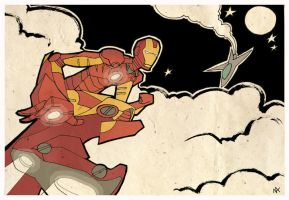 IRON MAN by nichangell