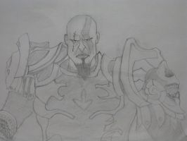 Kratos by killero94