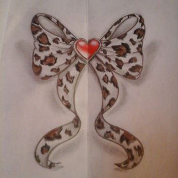 Animal print bow - finished by laviudita