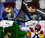 Fancomic- The Oboe Shoes Case by spookydoom