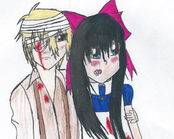My Version Of Aya and Dio From Madfather by Lenaleekitkat