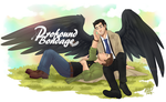 SPN: Destiel Commission for ProfoundBondage.com by GI-Ace