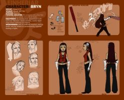 Character Sheet: Bryn by Skarita