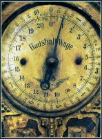 Old weighing machine 2 by Schunki