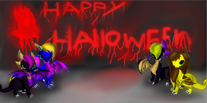 Happy Halloween all by thesaphira