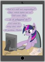 Tech support by TotallyAnAlicornGuys