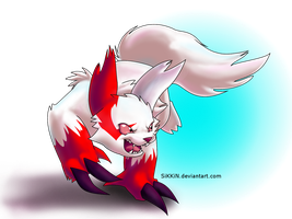 Zangoose by SiKKiN
