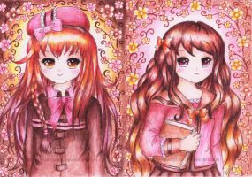Anette and Amber by SilverChaim