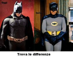 Batman Trova le differenze.... by Draxir