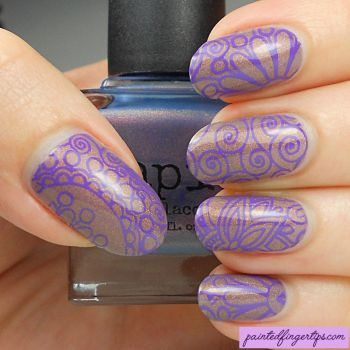 Stamped Thermal Polish by Painted-Fingertips