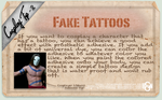 Cosplay Tip 2: Fake Tattoos by Bllacksheep
