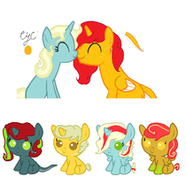 Breedable with dragonlover786 Foals by SnowRoseAdopts