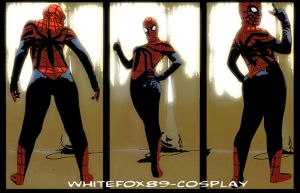 MY SPIDER GIRL COSPLAY??? by WhiteFox89