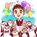 Hbd, Thomas Kyungsoo! by CrazedPochamaXD