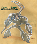 The Space Reaper by WarBrown