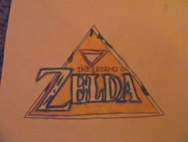 Zelda Triforce Logo by PrinccessZelda