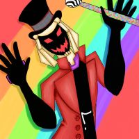 Blitzwing as Willy Wonka by Poisoned-FrogSkin